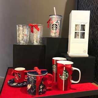 Starbucks 2018 Christmas 杯 代購