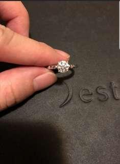 💯 Solitaire ring