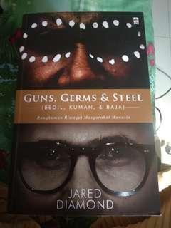 Guns germs & steel bedil kuman dan baja jared diamond bahasa indonesia
