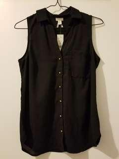 NWT NEW Dynamite sleeveless top XS