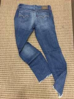 Levi's Low Rise Girlfriend Jeans