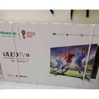 """Hisense 55U7A 55"""" ULED Smart UHD 4k TV (New)"""
