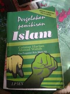 Catatan harian ahmad wahid - pergolakan pemikiran islam