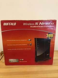 Buffalo 300M wireless N router