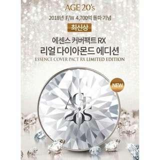 🚚 最新韓國AGE20s限量10.5代RX【現貨】