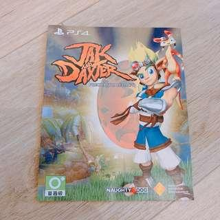 PS4 Game Jak and Daxter Redemption code