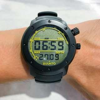 Suunto Elementum Aqua Black Rubber Dive watch - SS014528000