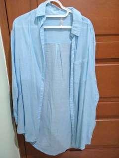 Stradivarius long shirt