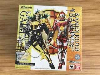 SALE!!!! Kamen rider gaim and baron sh figuarts set