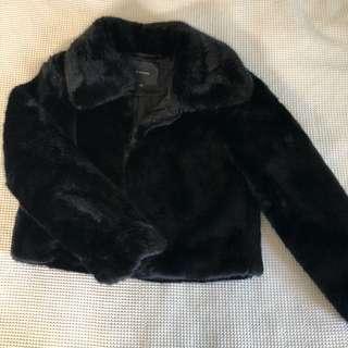 glassons faux fur jacket