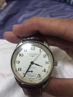 Longines master collection power reserve watch