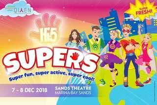 Hi5 super concert cheapest
