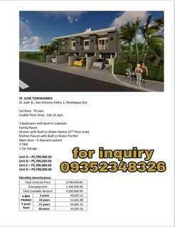 St Jude townhouse paranaque