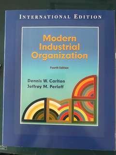 Modern Industrial Organization Fourth Ed by Dennis Carlton Jeffrey Perloff