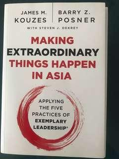 Making Extraordinary Things Happen in Asia by James Kouzes Barry Posner