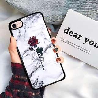 (PO) Marble Rose Phone Case