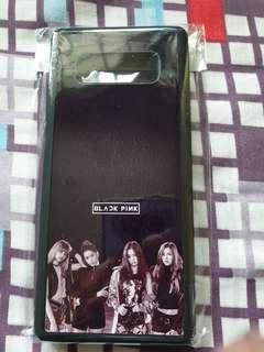 Black pink note 8 casing
