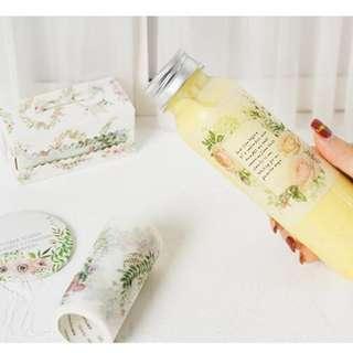 Floral border washi tape [Free NM]