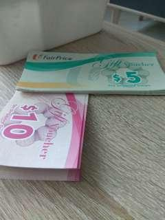 NTUC voucher S$235 sell for $220