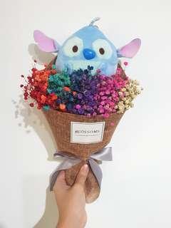 Disney baby breaths bouquet