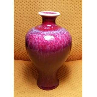 紫釉花器 Purple Glazed Vase 花瓶