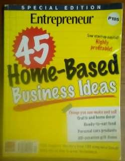 45 Home-Based Business Ideas