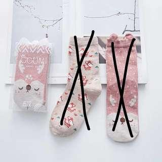INSTOCK #13 Carmella Design Cute High Socks