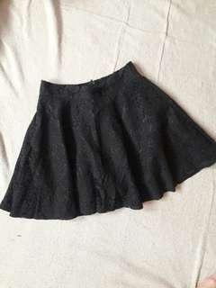 Cute Laced Mini Skirt