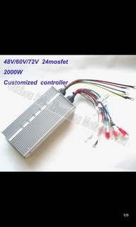 48v/60v/72v 2000W ZL Controller