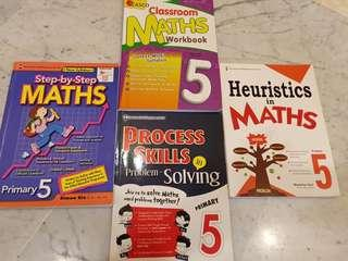 P5 Maths Assessment Books