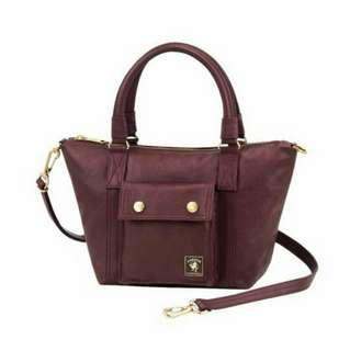 Porter International Milky Plus Tote  (S)  - Maroon