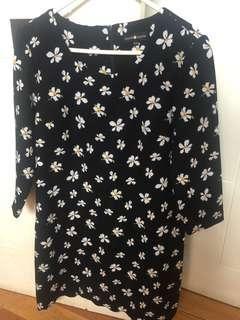 Shift floral dress