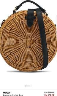 Mango bamboo coffer bag