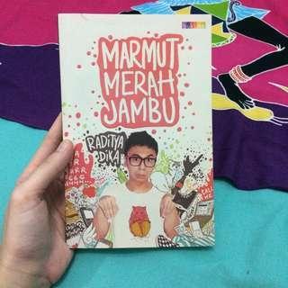 Novel Marmut Merah Jambu by Raditya Dika