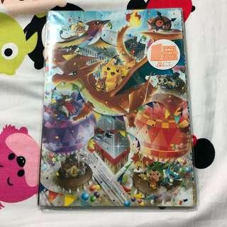 BN Pokemon Center Pikazard Notebook Set