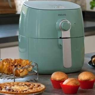 Special edition Philips Airfryer turquoise green