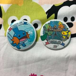 BN Pokemon Cafe Badges
