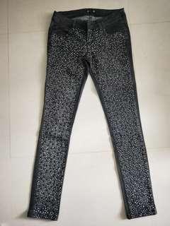 Forever 21 Glitter Jeans