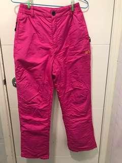 童裝保暖雪褲