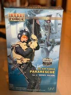 US Air Force  Pararescue 空軍人形公仔