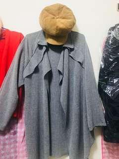 🚚 質感風衣(灰色)