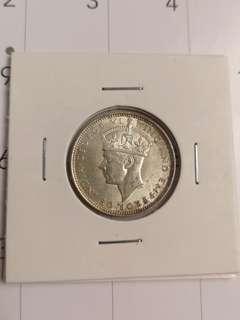 Malaya/straits silver 20 cent