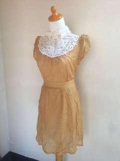 REPRICE‼️SALE‼️Yellow Gold Dress