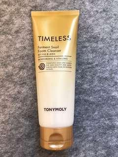 🈹6折-Tony Moly Timeless 蝸牛潔面乳 Ferment Snail Foam Cleanser 150ml