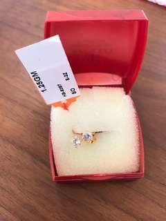 916 gold earrings