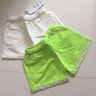 Girls shorts size 120