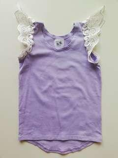 Penny & Co AU Angel Wings Top in EUC