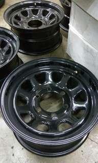 """15"""" Daytona rim x 4pcs for Hiace / NV350 / Land Rover / Hilux / Jeep"""