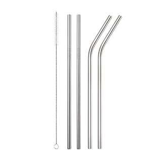 🚚 [PO] Stainless Steel Reusable Straw Set