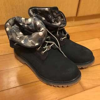 Timberland boots roll top